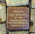 Stolperstein Elly Ortmann - Aachen (2).JPG
