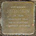 Stolperstein Joseph Stern (Am Fauerbach 34 Fauerbach vor der Höhe).jpg