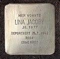Stolperstein Kantstr 75 (Charl) Lina Jacoby.jpg