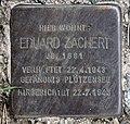 Stolperstein Mendelssohnstr 10 (Prenz) Eduard Zachert.jpg
