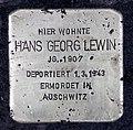 Stolperstein Moselstr 5 (Fried) Hans Georg Lewin.jpg