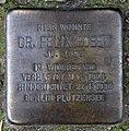 Stolperstein Wilhelmstr 24 (Kreuz) Felix Bobek.jpg