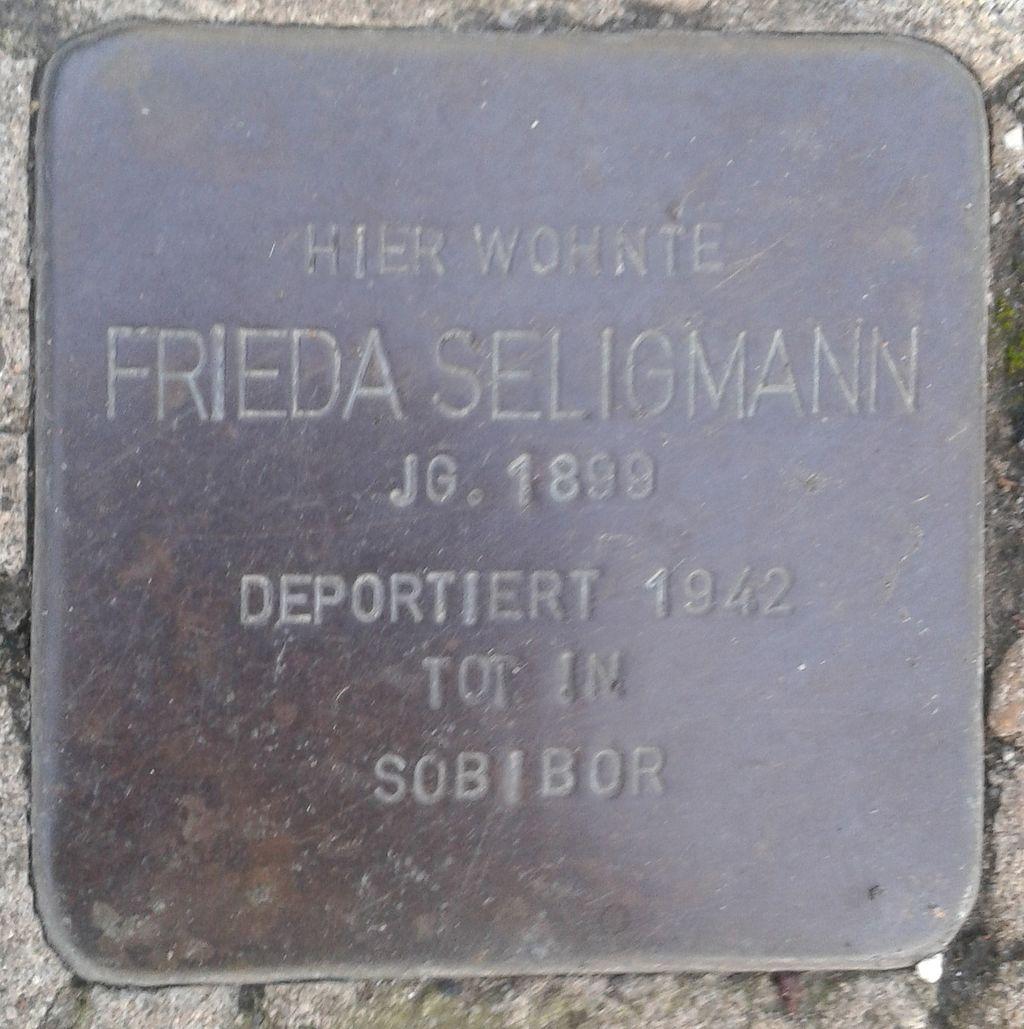 Stolperstein Windeck Rosbach Mittelstraße 20 Frieda Seligmann