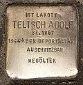 Stolperstein für Adolf Teltsch.JPG