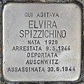 Stolperstein für Elvira Spizzichino (Rom).jpg