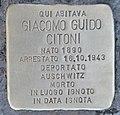 Stolperstein für Giacomo Guido Citoni (Rom).jpg