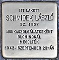 Stolperstein für Laszlo Schmidek (Budapest).jpg