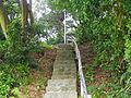 Stone Stairs in Hiking Trail Area of Bihu Park 20100321.jpg