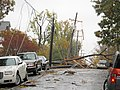 Storm Downed power lines and trees from Storm Sandy (8138919297).jpg