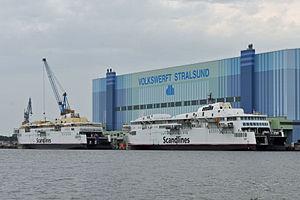 Stralsund, Volkswerft (2012-06-28), by Klugschnacker in Wikipedia (6).JPG