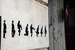 Street art silly walk.JPG