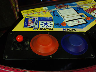 Street Fighter (video game) - The pressure-sensitive arcade control system