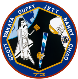 Brian Duffy (astronaut) - Image: Sts 72 patch