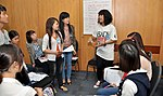 Students join the 'USAID and Higher Education in Vietnam' talk (8201280293).jpg