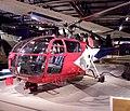 Sud Aviation SE 3169 - SA 316 Alouette III at militare luchtvaart museum Soesterberg.jpg