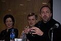 Sue Gardner, Michael Snow, Jimmy Wales.jpg