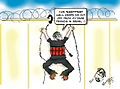 Suicide bomber climbing West Bank Barrier cartoon.jpg