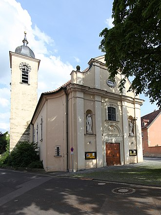 Sulzheim, Bavaria - Image: Sulzheim Kath Kirche