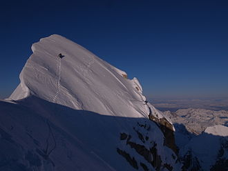 The Moose's Tooth - Image: Summit of Mooses Tooth
