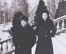Sun Weishi Zhou Enlai in Moscow