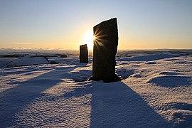 Sunrise on Brotherstone Hill (geograph 2735741).jpg