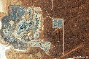 Sunrise Dam Gold Mine - Image: Sunrisegoldmine
