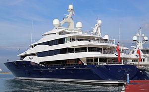 Amaryllis (yacht) - Image: Superyacht MY Amaryllis berthed at Marina Bay, Gibraltar