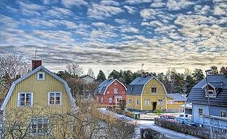 Surahammar - Skogslund, Surahammar in January 2009