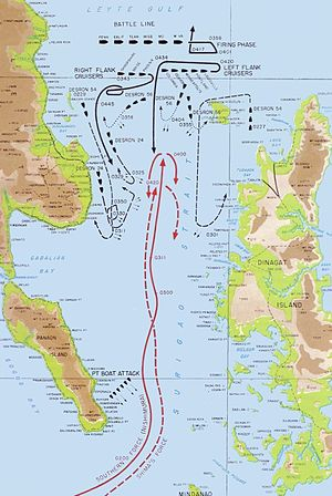 Battle of Leyte Gulf - The Battle of Surigao Strait