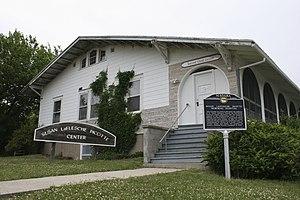 Walthill, Nebraska - Susan La Flesche Picotte Memorial Hospital, Walthill, designated a National Historic Landmark in 1993