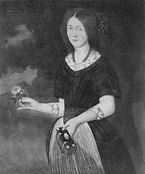 Hans Paus - Susanne Paus (1685). The painting is today found at Herresta