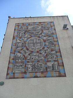 Sutton, Surrey London Heritage Mural
