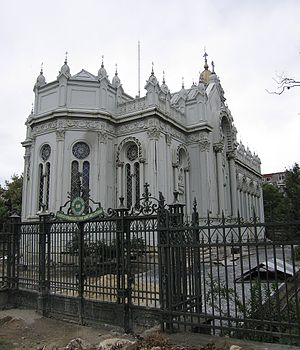 Bulgarian St. Stephen Church - Image: Sv stefan view from back