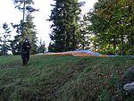 Svatoborská vrchovina, Svatobor, paragliding 01.jpg