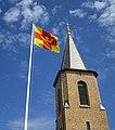 Svenska kyrkans flagga Smögens kyrka 2.jpg