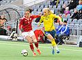 Sweden - Denmark, 8 April 2015 (16467423023).jpg