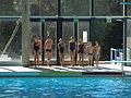 Swimming demonstration in Pirkkola.jpg
