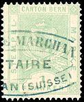 Switzerland Bern 1880 revenue 1Fr - 16C.jpg