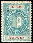 Switzerland Lucerne 1907 revenue 6 10c - 112 - E 1 08.jpg