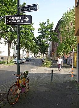 Synagogenweg in Düsseldorf