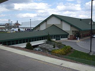 William F. Walsh Regional Transportation Center Rail and Bus Transit Center in Syracuse, NY