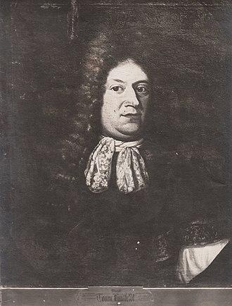 1677 in Norway - Tønne Huitfeldt