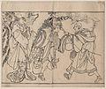 Tōshūsai Sharaku (1794–95) Bandō Mitsugorō II, Ōtani Oniji III, and Segawa Kikunojō III.jpg