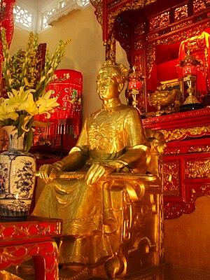 Lê Văn Duyệt - Bronze statue of Lê Văn Duyệt in his tomb