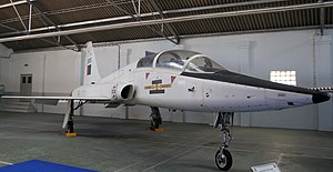 "201 Squadron (Portugal) - PoAF T-38A Talon, nicknamed ""Falcão Branco"" (White Falcon)"