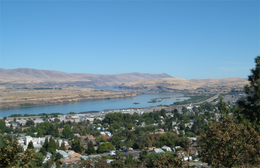 The Dalles – Veduta