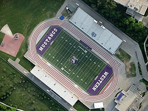 TD Stadium - Image: TD Stadium aerial