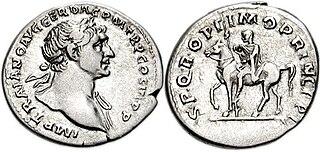 equestrian statue of Trajan