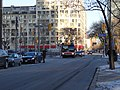 TTC bus 7793 proceeding west on the Esplanade, 2015 01 13 (2) (16279025961).jpg