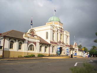 Mosman, New South Wales - The 1916 James Barry Zoo entrance building